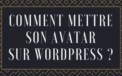 Comment mettre son avatar sur WordPress ?
